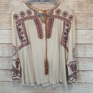 Umgee brand woman's top size medium boho